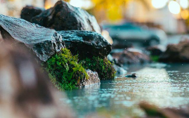 Вода как важный элемент